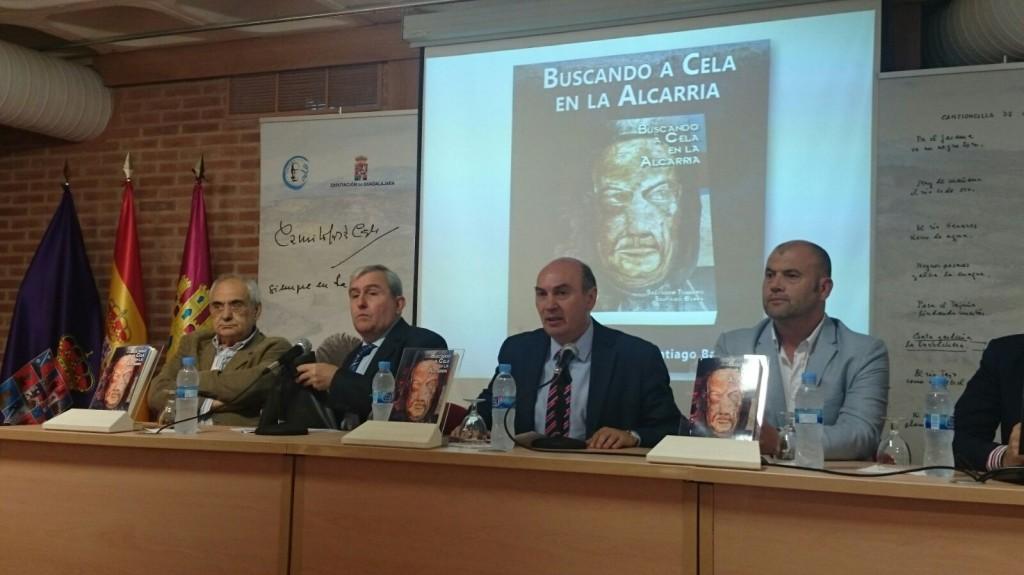 Presentación de la reedición de 'Buscando a Cela en la Alcarria'.
