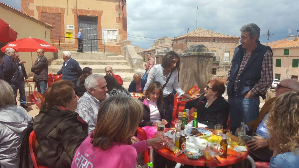 Celebración de San Isidro en Alcolea de las Peñas.