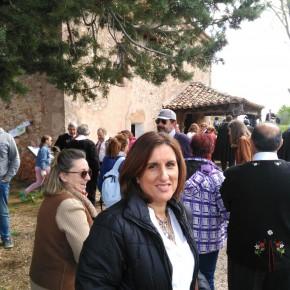 Yolanda Ramírez recorre el Mercado Medieval de Tamajón y asiste a la Caballada de Atienza, entre otras citas emblemáticas de la provincia