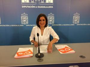 Rueda de Prensa de Yolanda Ramírez en la Diputación Provincial.