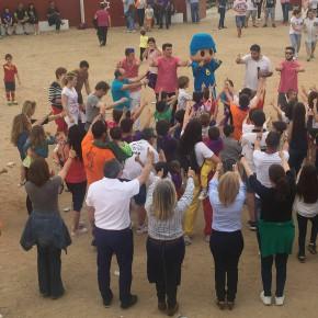 Yolanda Ramírez asiste invitada a las fiestas patronales de Fuentenovilla