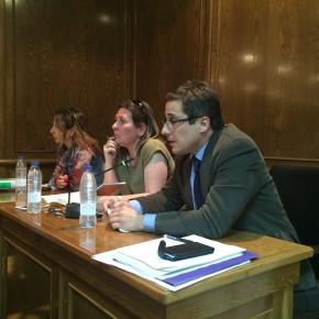 Ciudadanos (C's) Alovera defiende en el Pleno la búsqueda de soluciones sin excusas contra la masificación del instituto