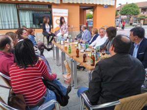 'Café Ciudadano' a pie de calle en Azuqueca de Henares
