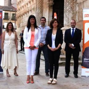 Ciudadanos (C's) Guadalajara presenta sus candidatos al 26-J