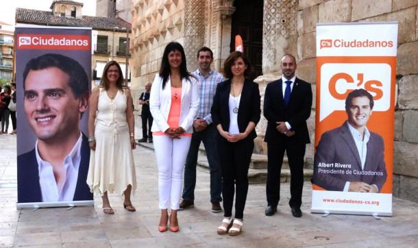 Candidatos de Ciudadanos (C's) Guadalajara para el 26-J.
