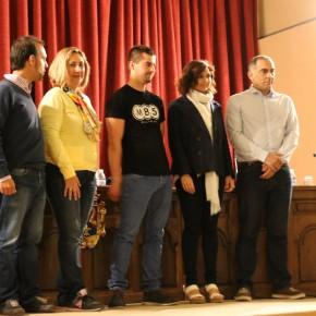 Orlena de Miguel en el debate a cuatro organizado en Molina de Aragón
