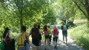Estudiantes de la UAH emprenden la sexta etapa del 'Viaje a la Alcarria'.