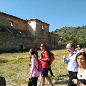 Yolanda Ramírez participa en la sexta etapa del 'Viaje a la Alcarria' organizado por la Diputación