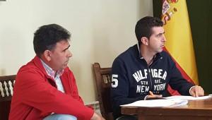 Germán Sánchez y Carlos Morales, concejales de C's en el Ayuntamiento de Tendilla