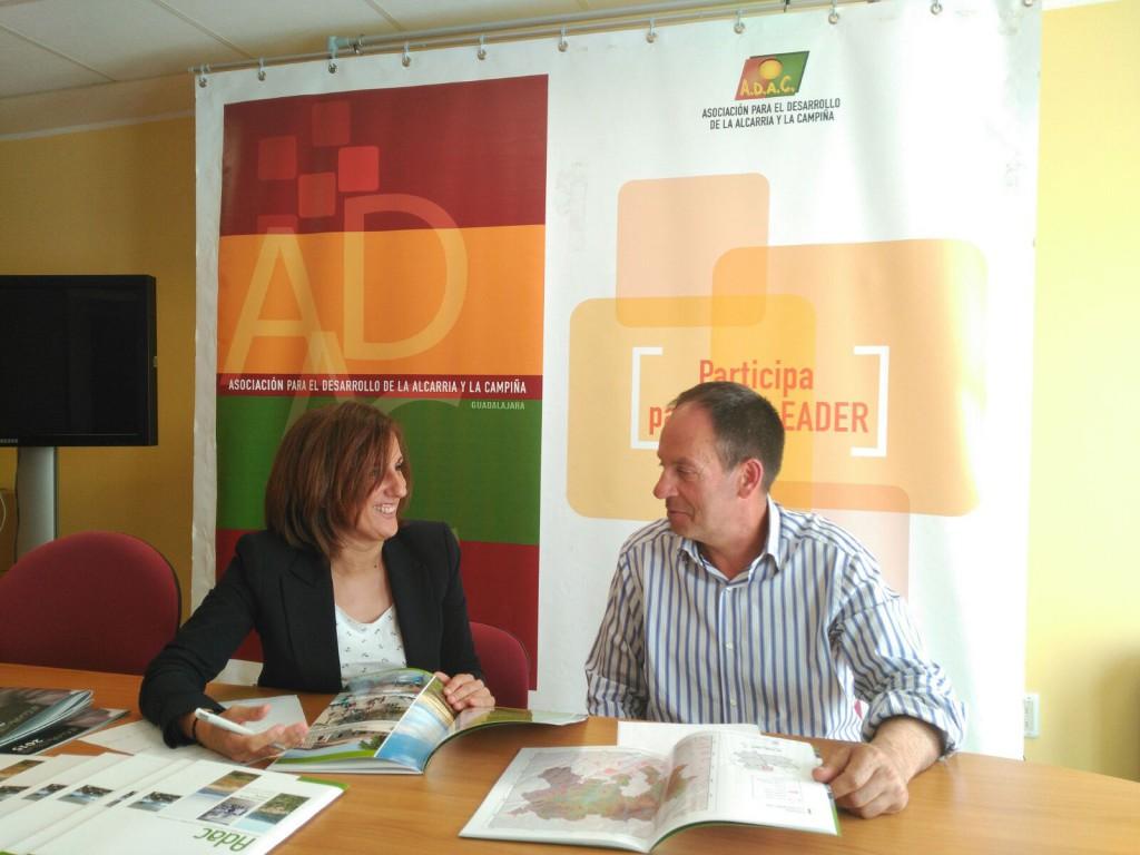 Yolanda Ramírez con Fernando Senesteva (ADAC)