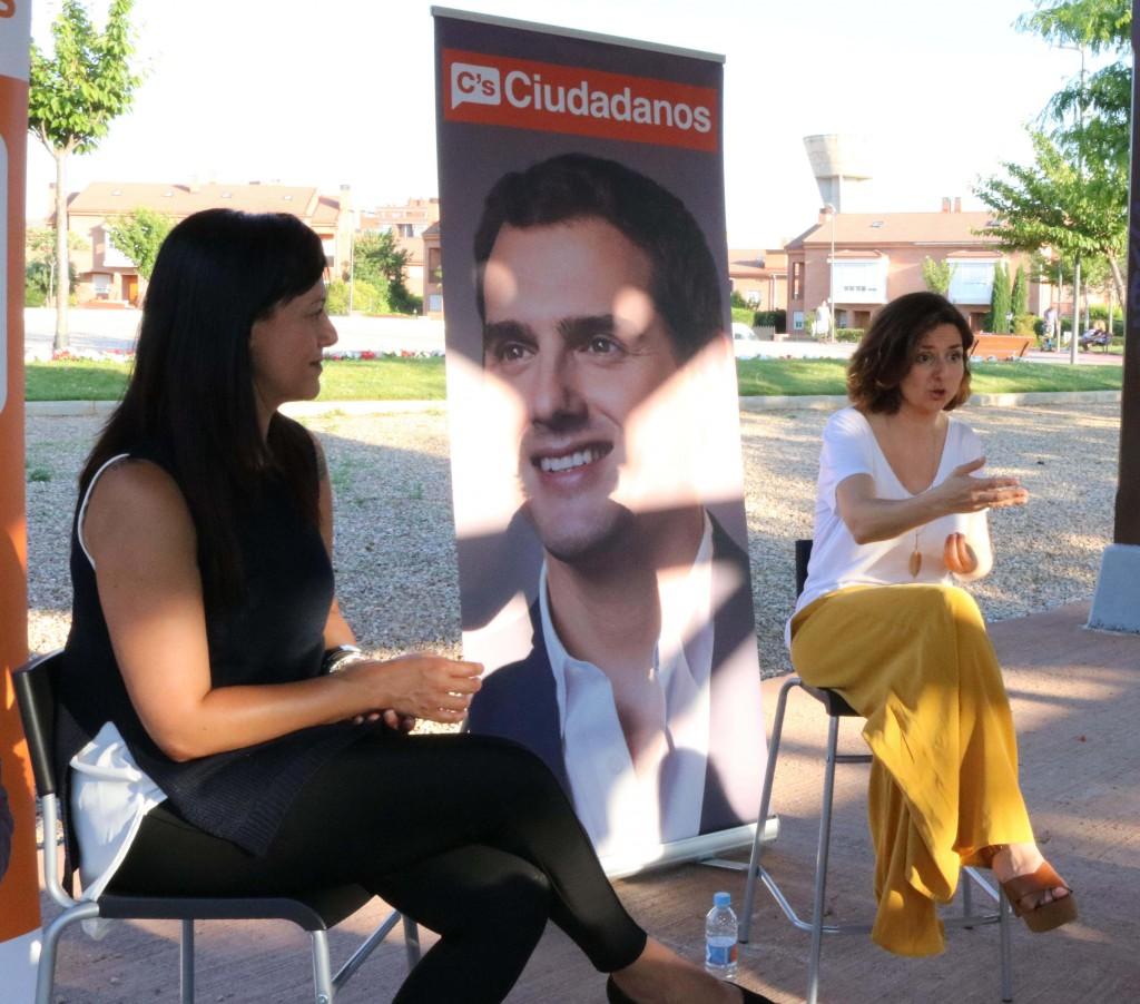 Silvia García y Orlena de Miguel