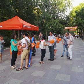 """Orlena de Miguel: """"Votar a Ciudadanos es garantía de estabilidad, tenemos la valentía para afrontar las reformas que España necesita"""""""