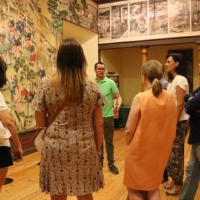 Visita al Salón Chino ubicado en el Palacio de la Cotilla