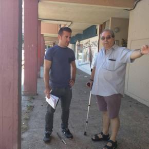 Los concejales de Ciudadanos (C's) lamentan el estado del barrio de La Rambla en Guadalajara