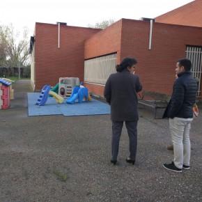 El Grupo Ciudadanos (C's) durante su visita a las Escuelas Infantiles municipales hace tan solo unas semanas