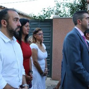 Carlos Morales y Germán Sánchez (dcha.), concejales de C's en Tendilla