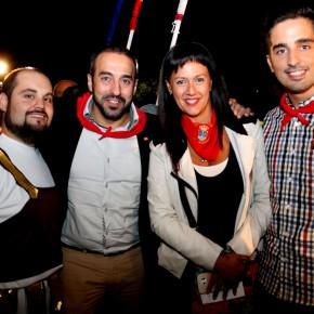 Integrantes del Grupo Ciudadanos (C's) junto al subdelegado provincial de la formación