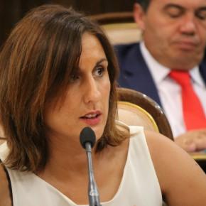 Yolanda Ramírez durante sesión plenaria (imagen de archivo)