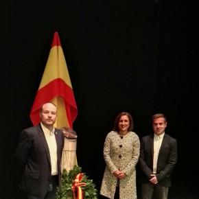 C's Guadalajara acude a los actos de celebración de la Fiesta Nacional