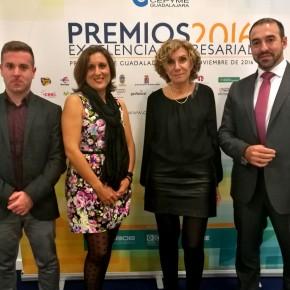C's Guadalajara asiste a la Gala Premios Excelencia organizada por CEOE-CEPYME