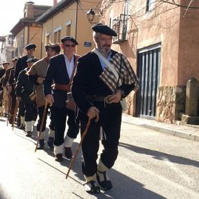 La Agrupación de Ciudadanos (C's) Guadalajara acompaña a los vecinos de Cantalojas en la celebración de los 'Cencerrones'