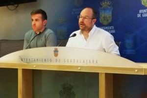 20.01.2017 Angel Bachiller y Alejandro Ruiz ediles de Cs