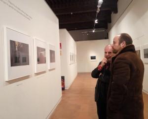 Alejandro Ruiz con el fotógrafo José Manuel Navia