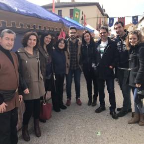 C's Guadalajara visita la Feria de las Mercaderías de Tendilla