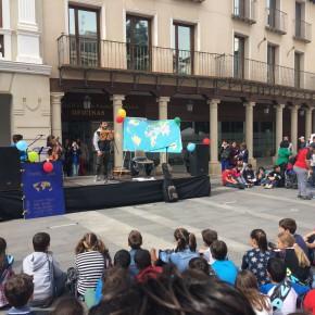 Los concejales de Ciudadanos (Cs) en Guadalajara asisten a los actos organizados con motivo del Día Mundial de la Poesía