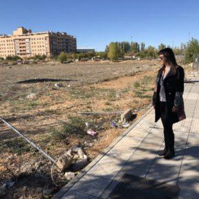 """Silvia García: """"La falta de compromiso con la limpieza de este Equipo de Gobierno, no se ve solo en las calles de Azuqueca, sino también, en las parcelas particulares"""""""