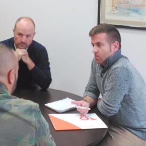 Ciudadanos Guadalajara se reúne con el representante del colectivo Jusapol en la provincia alcarreña