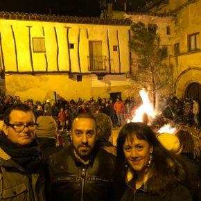 Ciudadanos (Cs) Guadalajara, en la celebración de las Hogueras de San Vicente de Sigüenza