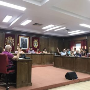El pleno aprueba la solicitud de Cs para la rescisión inmediata del contrato con la empresa adjudicataria de la gestión del Pabellón 'Ciudad de Azuqueca'