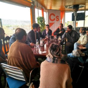 La Agrupación de Cs Uceda comienza a andar con un café informativo sobre política municipal