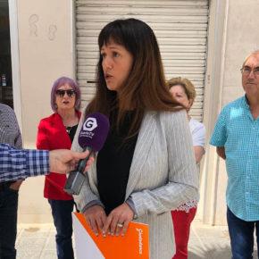 """Silvia García: """"La ubicación del juzgado de paz no cumple con la actual normativa de accesibilidad, no garantiza la privacidad de quién acude al mismo, y no cuenta con espacio suficiente"""""""