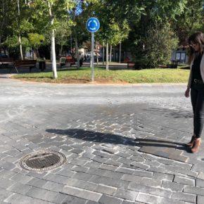 """Silvia García: """" A la plaza General Vives, en lugar de llamarla así,  la deberían denominar plaza del Grand Prix"""""""