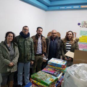 La Agrupación de Ciudadanos El Casar agradece la implicación de los casareños en la recogida de juguetes