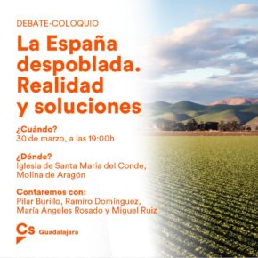 Molina de Aragón acogerá una mesa de debate para hablar de la España despoblada: realidad y soluciones
