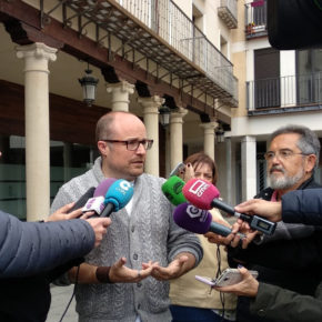"""Alejandro Ruiz: """"En estos cuatro años el PP ha demostrado que la transparencia no es importante para su labor de Gobierno"""""""