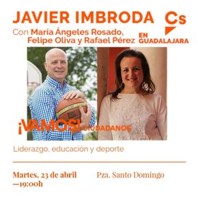 Imbroda participará en un acto sobre educación acompañado de los cabeza de lista al Congreso, Senado y Alcaldía de Guadalajara
