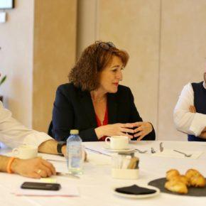 """Soraya Rodríguez: """"Tenemos un compromiso con la competitividad y la sostenibilidad de nuestros pueblos, y vamos a trabajar por revertir el declive demográfico en nuestras zonas rurales"""""""