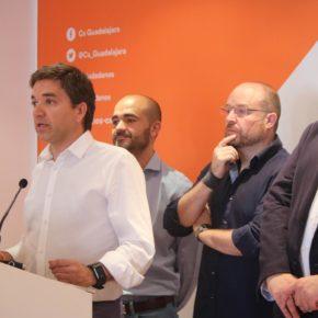 """Rafael Pérez Borda: """"Hemos logrado un acuerdo de gobierno estable, que pone en el centro de la política a los ciudadanos y que evita la entrada del extremismo y populismo en el gobierno de Guadalajara"""""""
