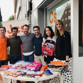 Jcs Guadalajara organiza una recogida de material escolar el próximo sábado