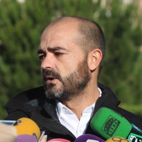 Israel Marco ha convocado a los medios en el Archivo Provincial para informar sobre la finalización de las actuaciones para mejorar el sistema de iluminación de la ciudad