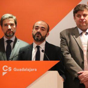 El grupo municipal de Cs  se plantea presentar la reprobación de Jaime Carnicero en el pleno del Ayuntamiento de Guadalajara