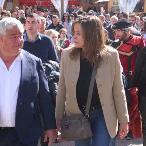 Olga Villanueva participa en la Feria de las Mercaderías de Tendilla