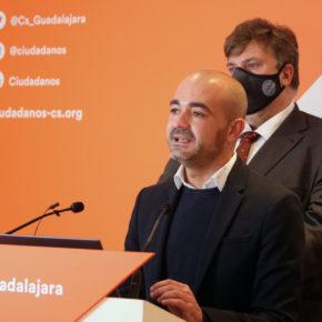 Cs Guadalajara celebra la llegada de ordenanzas fiscales liberales al consistorio alcarreño